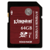 Карта памяти Kingston Ultimate SDXC 64Gb Class10 UHS-I U3 90Mb/s (SDA3/64Gb)