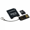 Карта памяти Kingston MicroSDHC 16Gb Class 10 Mobility Kit Gen2 (MBLY10G2/16Gb)