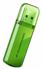 Накопитель USB 32Gb Silicon Power Helios 101 (SP032GBUF2101V1N) Green