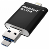 Накопитель USB 16Gb PhotoFast i-Flashdrive EVO Plus Black (IFDEVO16Gb)