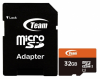 Карта памяти Team microSDHC 32Gb UHS-1 + SD-adapter (TUSDH32GUHS03)
