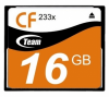 Карта памяти Team 16Gb CompactFlash 233x (TCF16G23301)