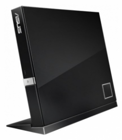 Оптический привод BluRay-Combo Asus SBC-06D2X-U Slim Black USB 2.0