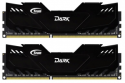 Память Team Dark Series Black 2x8Gb DDR3 1600MHz (TDKED316G1600HC9DC01)