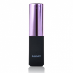 Remax Lipstick Power Bank 2400 mAh Purple
