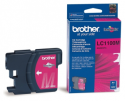 Картридж Brother DCP-385C/ 6690CW, MFC990CW magenta (LC1100M)