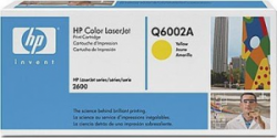 Картридж HP CLJ1600/ 2600 yellow (Q6002A)
