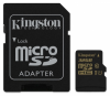 Карта памяти Kingston MicroSD 32GB Class 10 UHS-I + SD-adapter (SDCA10/32GB)