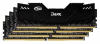 Память Team Dark Black 4x8Gb DDR4 2666MHz (TDKED432G2666HC15AQC01)