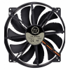 Вентилятор Thermaltake Pure 20 DC Fan (CL-F015-PL20BL-A) 200мм, 800 об/мин, 3pin, 28.2dBA, w/o LED