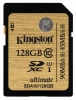 Карта памяти Kingston Digital SDXC 128Gb Class 10 UHS-I Ultimate (SDA10/128Gb)