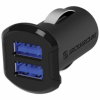 Scosche АЗУ-адаптер 2 USB 12W (2.4A) USB I3MC242M Black