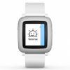 Pebble Time White
