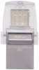 Накопитель USB 3.1 + Type-C Kingston DT Micro 32Gb Metal Silver (DTDUO3C/32Gb)