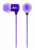 Наушники KitSound Ace In-Ear Headphones with mic Purple (KSACEMPU)