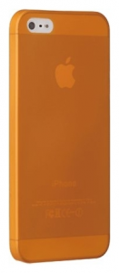 Чехол OZAKI O!coat-0.3-Jelly for iPhone 5/5S Orange (OC533OG)