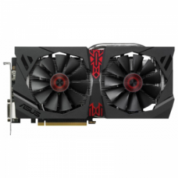 Видеокарта Asus Radeon R9 380 2Gb DDR5 Strix Gaming (STRIX-R9380-DC2OC-2GD5-GAMING)