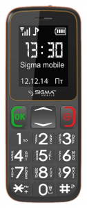 Мобильный телефон Sigma mobile Comfort 50-mini3 Grey-Orange
