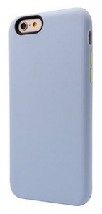 Чехол OZAKI O! Coat Macoron for iPhone 6 Babyblue (OC563BB)