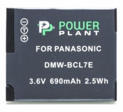 Aккумулятор PowerPlant Panasonic DMW-BCL7 DV00DV1380