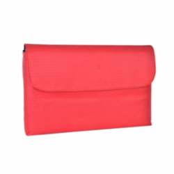 Padded Notebook Sleeve/Case Red