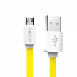 Rock lighting micro USB combo 1m 5V/2.1A Yellow