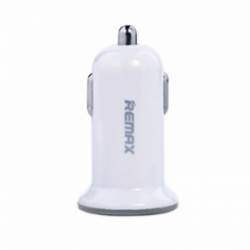 Remax АЗУ Mini USBx2 2.4A/1A White