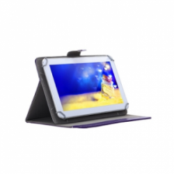 Foldable Protectve Stand Holder Case Universal 10.1 inch Purple