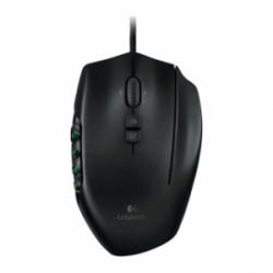 Logitech G600 MMO Gaming Mouse Black эконом упаковка