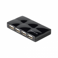 Belkin 7 Port USB 2.0 Mobile Hub Black