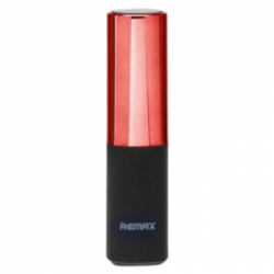 Remax Lipstick Power Bank 2400 mAh Red