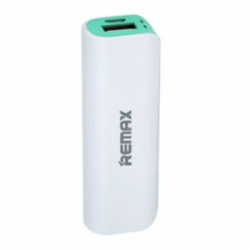 Remax Mini White Power Bank 2600 mAh Green