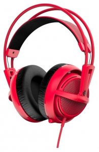 Гарнитура STEELSERIES Siberia 200, forget red (51135)