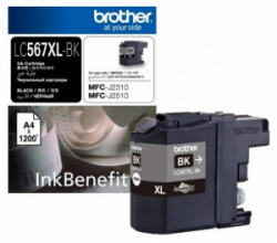 Картридж Brother MFC-J2310 XL black (1 200стр) (LC567XLBK)