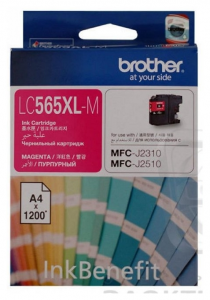 Картридж Brother MFC-J2310/J3520 XL magenta (1 200стр) (LC565XLM)