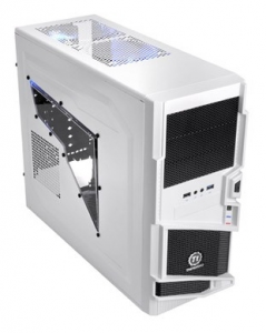 Корпус Thermaltake Commander MS-I Black, Miditower, ATX, без б/п (VN40006W2N)