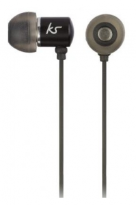 Наушники KitSound Ace In-Ear Headphones with mic Black (KSACEMBK)