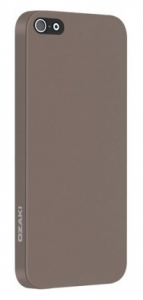 Чехол OZAKI O!coat-0.3-Solid for iPhone 5/5S Light Brown (OC530LB)