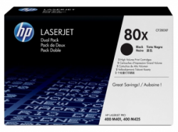 Картридж HP 80X 2-pack High Yield (CF280XF) Black