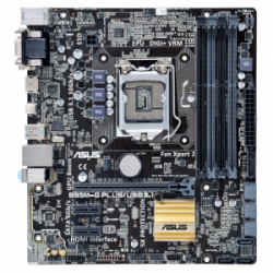 Материнская плата Asus B85M-G Plus/USB 3.1 (s1150, Intel B85) mATX